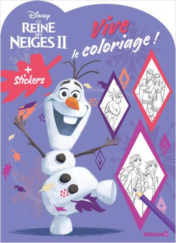 Disney La Reine des Neiges 2 - Vive le coloriage ! (Olaf)