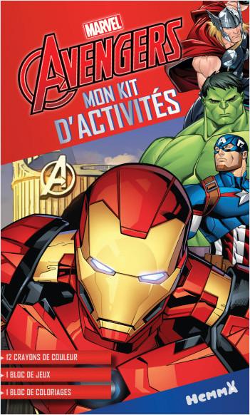 Marvel Avengers - Mon kit d'activités (Héros Marvel)