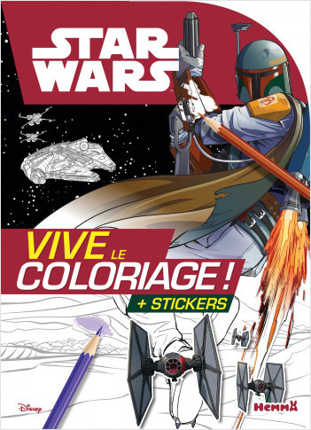Disney Star Wars - Vive le coloriage (Boba Fett)