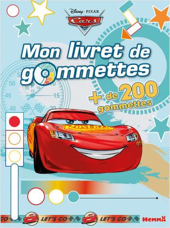 Cars - Mon livret de gommettes (Flash McQueen)