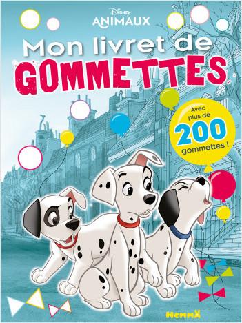 Disney Animaux - Mon livret de gommettes (101 Dalmatiens)