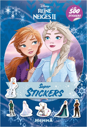 Disney La Reine des Neiges 2 - Super stickers