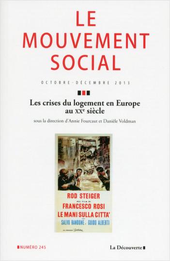Crises du logement en Europe au XXe siècle