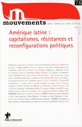 Amérique latine : capitalismes, résistances et reconfigurations politiques