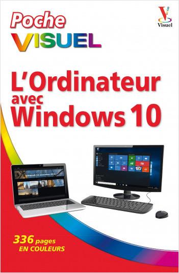 L'Ordinateur avec Windows 10 Poche visuel